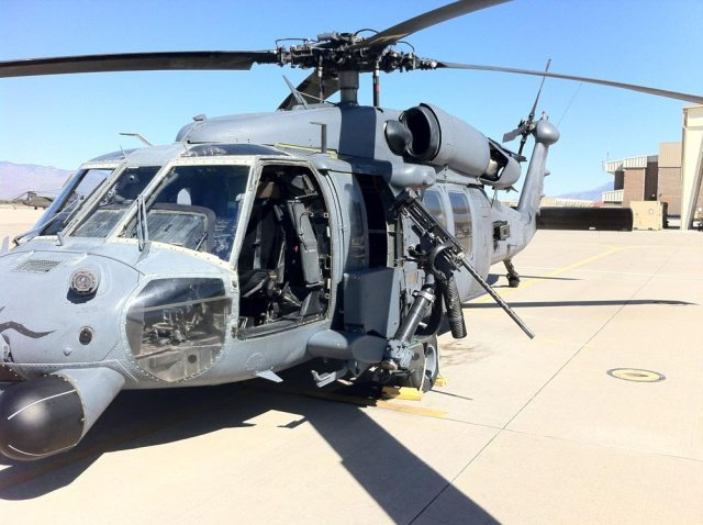 USAF Pedro helicopter used for CSAR and MEDEVAC missions