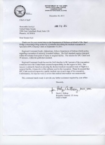 2012-01-09 US Army Reply to Sen John Kyle