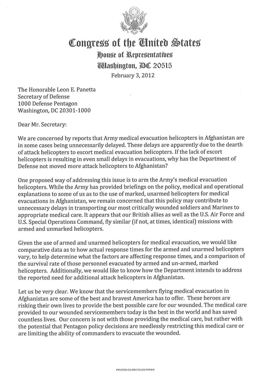 Yon 17 Members Of Congress Want Answers On Medevac Medevac Matters