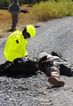 Medic in Yellow